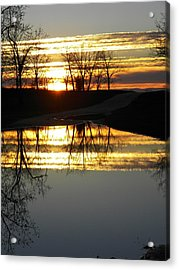 Carolina Sunrise Acrylic Print