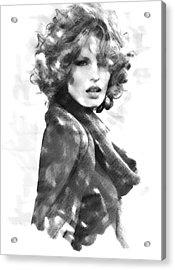 Caroline Winberg Acrylic Print by David Blank