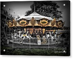 Carousel 1 Acrylic Print by September  Stone