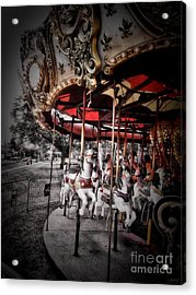 Carousel 2 Acrylic Print by September  Stone