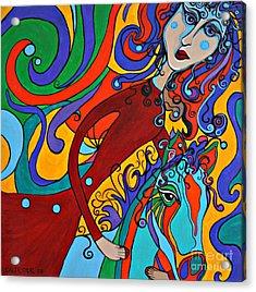 Carousel Dance Acrylic Print