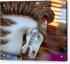 Carousel Horse Acrylic Print