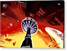 Carousel Acrylic Print by Lars Tuchel