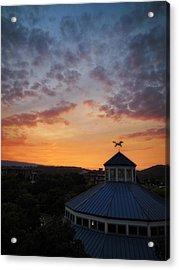 Carousel Sunset 2 Acrylic Print