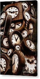 Carpe Diem - Time For Everyone Acrylic Print