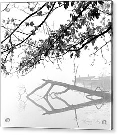 Carpenter Lake Morning Acrylic Print by Wendell Thompson