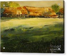 Carr Barn Acrylic Print
