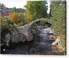 Carrbridge Autumn Acrylic Print