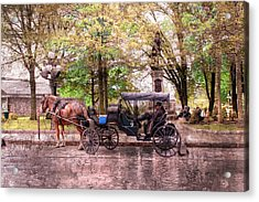 Carriage Rides Series 03 Acrylic Print