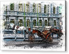 Carriage Rides Series 06 Acrylic Print
