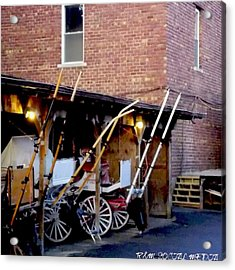 Carriage House  Acrylic Print by Marvin Washington