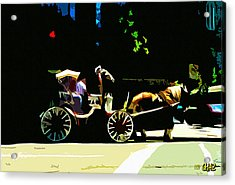 Carriage Ride Acrylic Print by CHAZ Daugherty