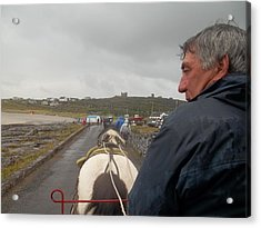 Carriage Ride On Inis Oirr Acrylic Print