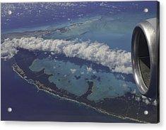 Carribbean Aerial 2 Acrylic Print