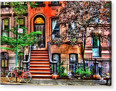 Carrie's Place - Sex And The City Acrylic Print by Randy Aveille