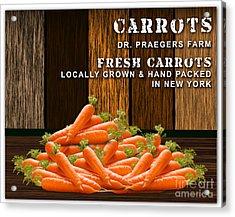 Carrot Farm Acrylic Print by Marvin Blaine