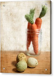 Carrots And Eggs 2 Acrylic Print