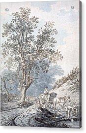 Cart And Horse Acrylic Print