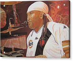 Carter Beauford At Red Rocks Acrylic Print