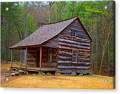 Carter Shields Cabin 2 Acrylic Print by Wild Expressions Photography