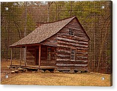 Carter Shields Cabin 3 Acrylic Print by Wild Expressions Photography