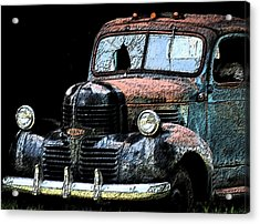 Cartoon Truck Acrylic Print