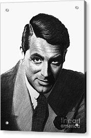 Cary Grant Acrylic Print by Loredana Buford