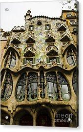Casa Batllo Exterior Acrylic Print by Deborah Smolinske