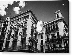 Casa Bruno Cuadros La Rambla Barcelona Catalonia Spain Acrylic Print