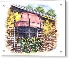 Casa De Pasta Acrylic Print by Carol Wisniewski