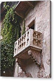 Casa Di Giulietta Acrylic Print