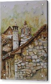 Casa En Alto Aragon Acrylic Print