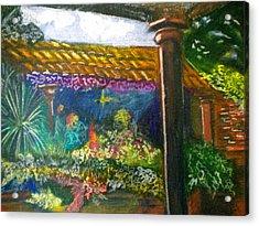 Casa Luna Acrylic Print by Debi Starr