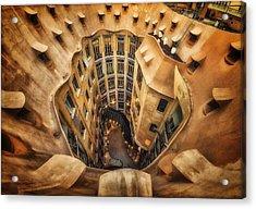 Casa Mila?, La Pedrera, Barcelona. Acrylic Print by Massimo Cuomo