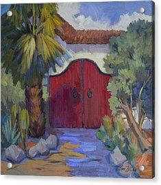 Casa Tecate Gate 2 Acrylic Print