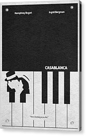 Casablanca Acrylic Print by Ayse Deniz