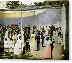 Casas I Carbo, Ram�n 1866-1932. Evening Acrylic Print by Everett