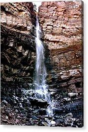 Cascade Falls Acrylic Print by Jeff Gater