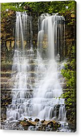 Cascade Acrylic Print by Scott Bean