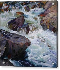 Cascades After Daniel Edmondson Acrylic Print