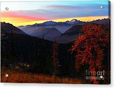 Cascades Sunrise Acrylic Print