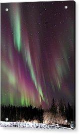 Cascading Aurora Acrylic Print