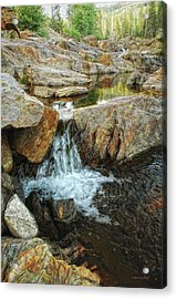 Cascading Downward Acrylic Print