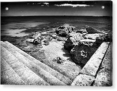 Cascais Angles Acrylic Print by John Rizzuto