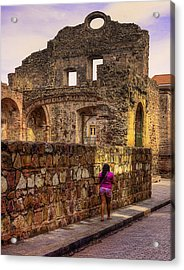 Acrylic Print featuring the photograph Casco Viejo Sunset by Kandy Hurley