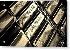Case Of Harmonicas  Acrylic Print by Chris Berry