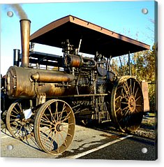 Case Steam Tractor Acrylic Print by Pete Trenholm