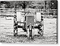 Case Tractor Acrylic Print by Scott Pellegrin