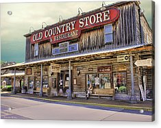 Casey Jones Village Store Acrylic Print