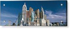 Casino Las Vegas Nv Acrylic Print by Panoramic Images